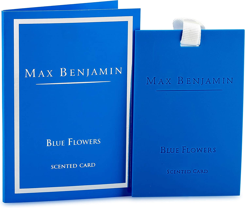Max Benjamin Duftkarte Blue Flowers