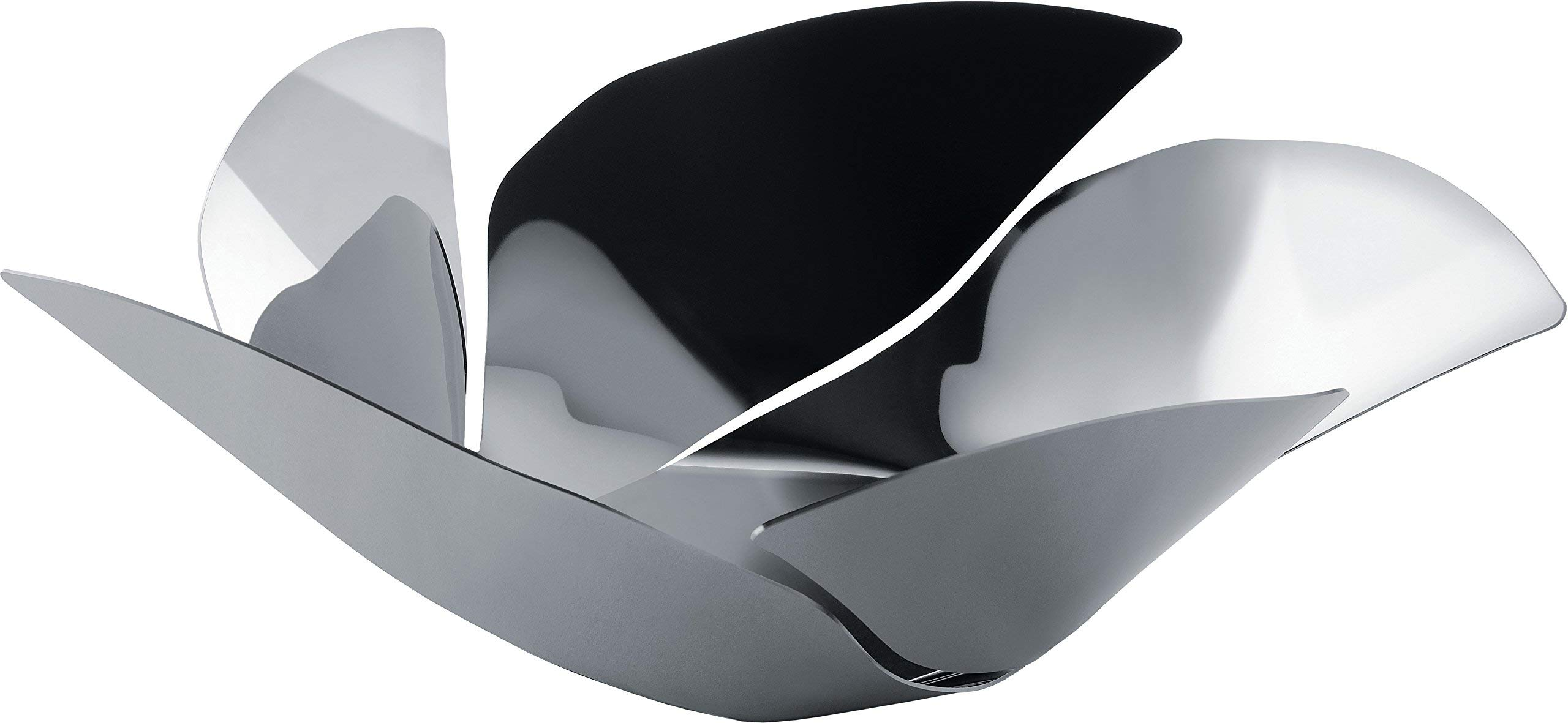 Alessi''Twist Again'' Fruit Holder in 18/10 Stainless Steel Mirror Polished, Silver