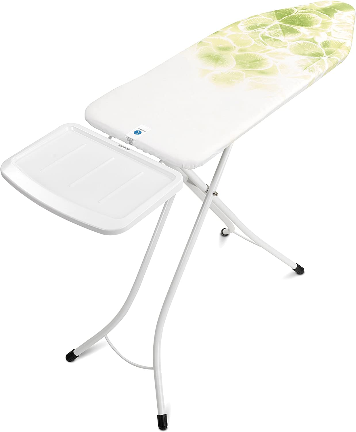 Leaf Clover Size B Brabantia Ironing Board with Steam Iron Rest Standard