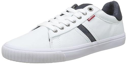 Levi's Skinner, Sneaker Uomo, Nero (Noir Regular Black), 44 EU
