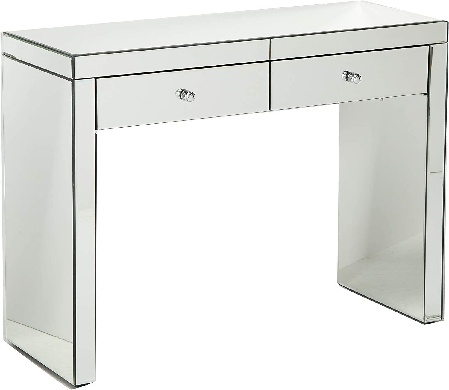 Christopher Knight Home Jacinda Mirrored 2-Drawer Console Table