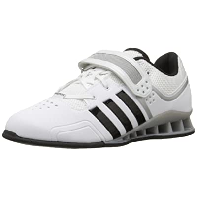 adidas Adipower Weightlift Chaussures–Noir/Rouge/Gris Tech metã ¡Lycos (3,5)