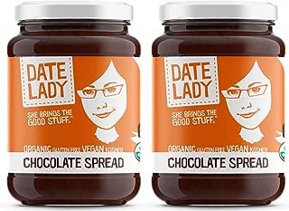 product image for Organic Chocolate Date Spread | Vegan, Paleo, Gluten-free & Kosher, NO ADDED SUGAR, NO PRESERVATIVES (2 Jars)