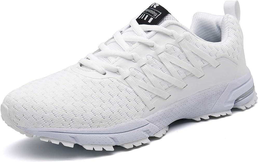 Sollomensi Sneakers Herren Damen Unisex Weiß