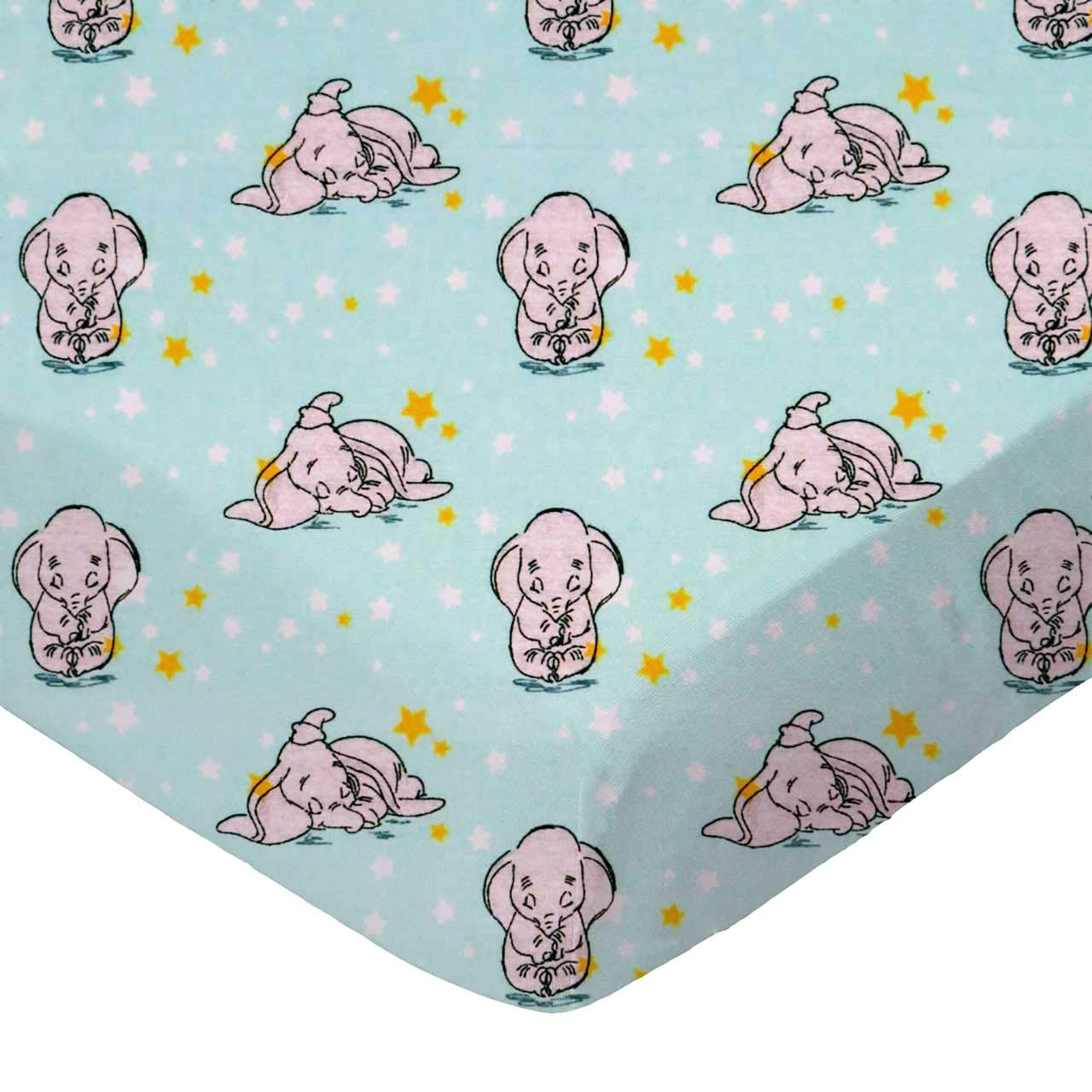 SheetWorld Fitted 100% Cotton Percale Pack N Play Sheet Fits Graco Square Play Yard 36 x 36, Dumbo Aqua, Made in USA