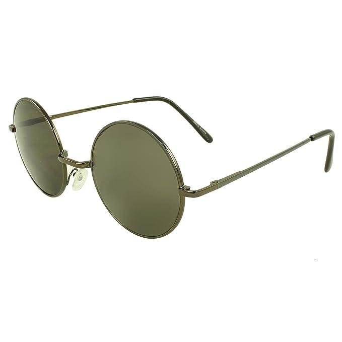 Amazon.com: MLC Eyewear® Retro Fashion Lennon estilo ronda ...