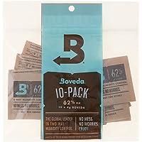 Boveda 62 Percent RH 2-Way Humidity Control, 4 Gram - 10 Pack