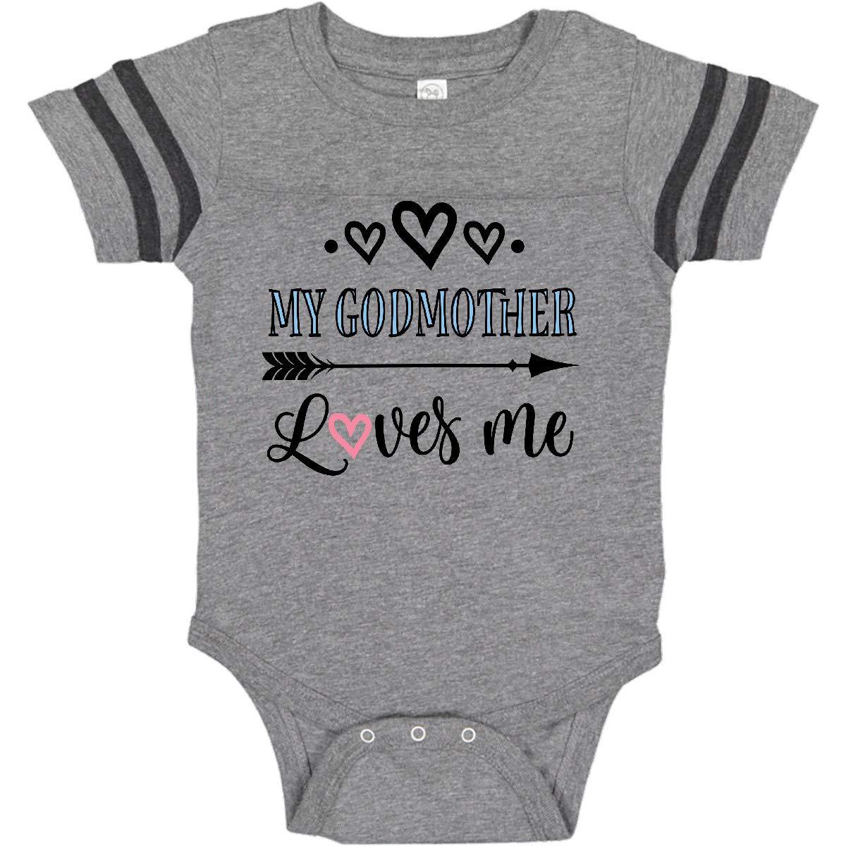 274509651 Amazon.com: inktastic - My Godmother Loves Me Godchild Infant Creeper  325e6: Clothing