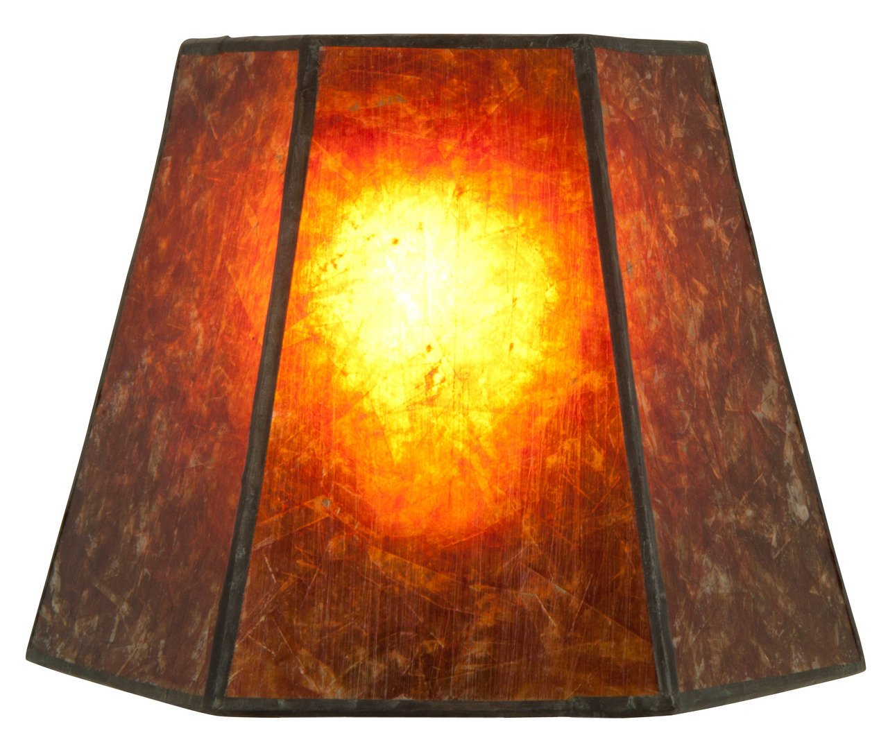 Superior Upgradelights 12 Inch Mica Lamp Shade Replacement 7x12x7.5 (Washer)    Lampshades   Amazon.com