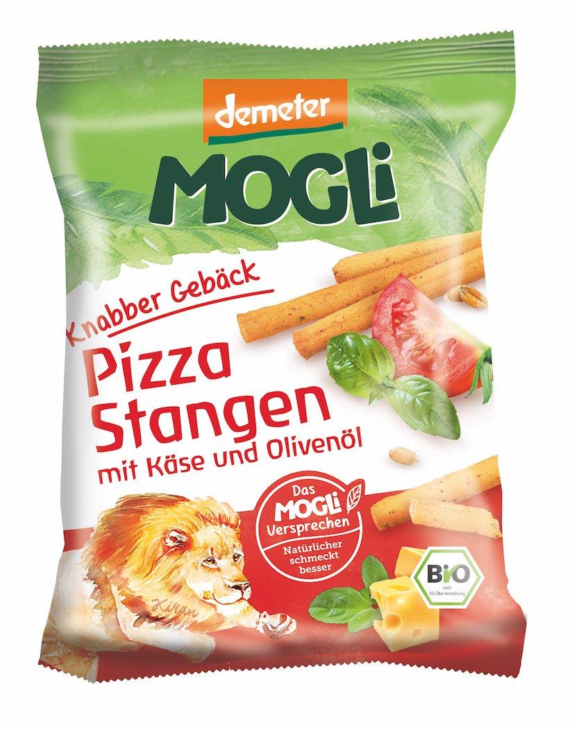 MOGLi Bio (demeter) Pizza Stangen 9er Pack, (9 x 75 g) MOGLi Naturkost GmbH