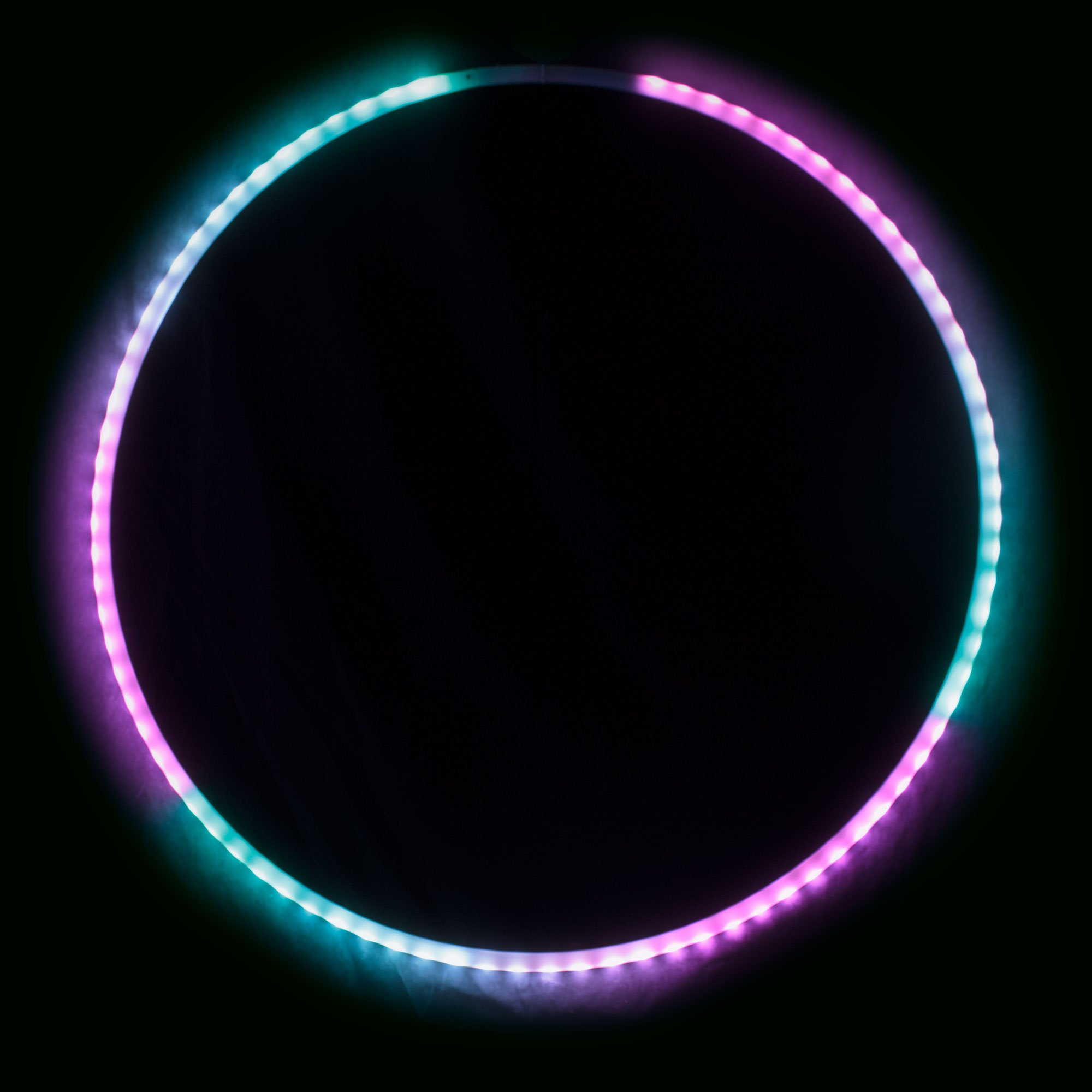 Echo Glow - Light Up Collapsible Professional Hula Hoop with 84 LED's, Fully Rechargeable + Remote Control! 300+ Light Patterns! by Echo Hoop (Image #7)