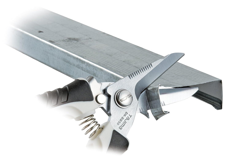 Tajima CLP210 Tijeras de precisi/ón corte preciso, manejo c/ómodo, mango ergon/ómico, hoja revestida de 210 mm