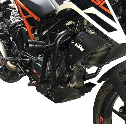 Amazon com: Crash Bar Engine + Slider Guard Protector for KTM Duke