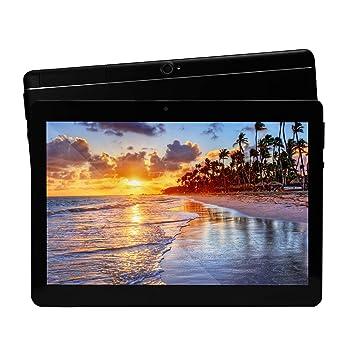 Android 6.0 Tablet de 10 Procesador de Ocho núcleos 2GB de RAM y 32 GB de Memoria Tablet PC WiFi Cámara GPS y Doble Ranuras de Tarjeta SIM ...