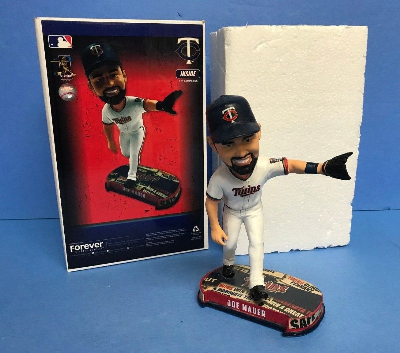 Joe Mauer 2017 Minnesota Twins Limited Edition Bobble Bobblehead