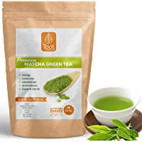Matcha Green Tea Powder - Japanese - 200 Serves - 100g - Ceremonial Grade Matcha Green Tea Powder - Ideal for Matcha Latte, Smoothies, Baking, Ice Cream