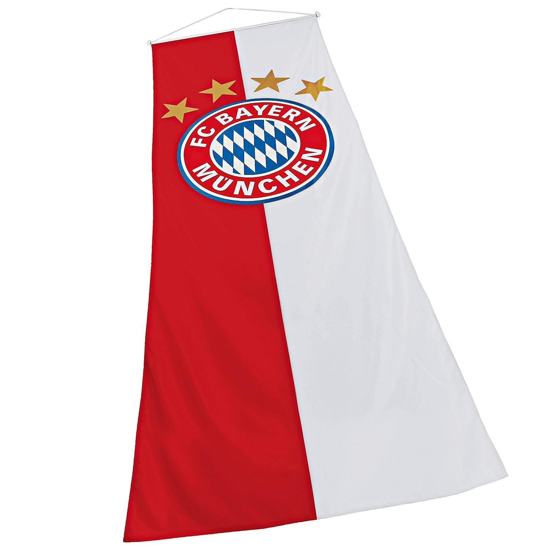 rot 150 x 100 rapeau // bandera // Flag // Flagge // Banner Munich Fahne FC Bayern M/ünchen Logo plus gratis Sticker M/ünchen forever