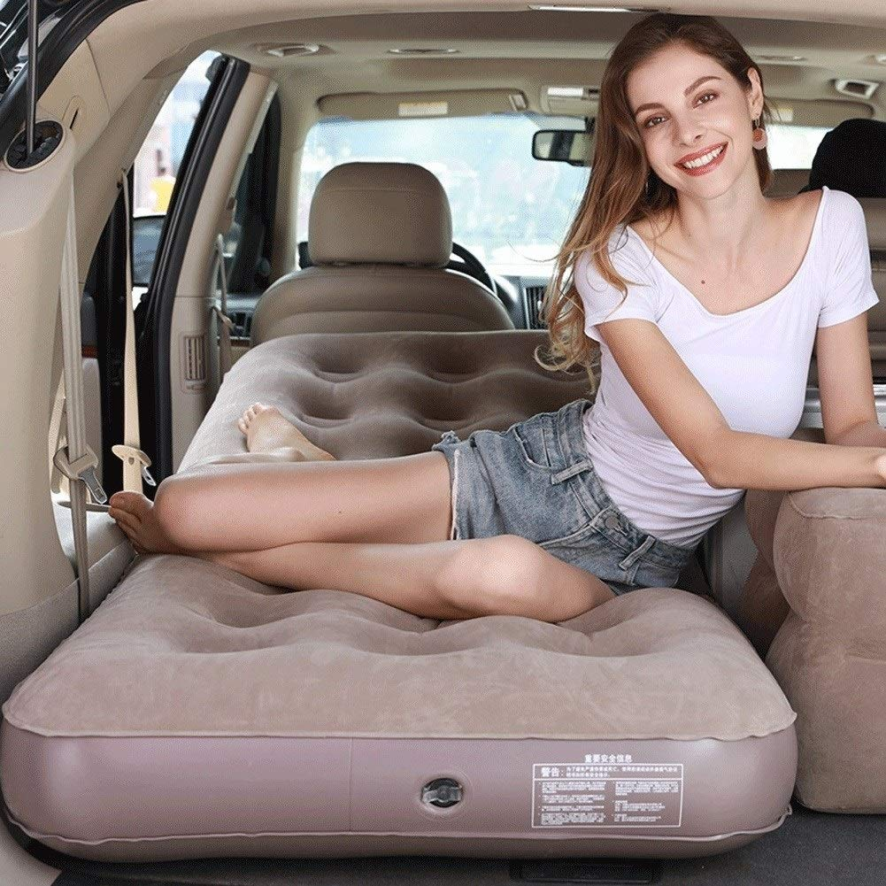 Car Air Inflation Travel Bed for Universal Back Seat Mattress Multi Functionl Sofa Outdoor Camping Mat Cushion CIM0918 (Size : 76x191x22cm) by ZCY-Auto Mattress