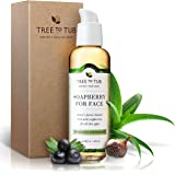World's Gentlest Organic Facial Cleanser 8oz, Moisturizing, pH Balanced, Calming for Dry, Oily, Sensitive Skin, Eczema, Psoriasis, Acne, from Wild Soapberry/Soap Nuts - Lavender