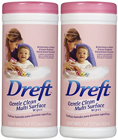Dreft All Purpose Wipes - 35 ct - 2 pk