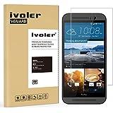iVoler Pellicola Vetro Temperato per HTC One M9 [Garanzia a Vita], Pellicola Protettiva, Protezione per Schermo