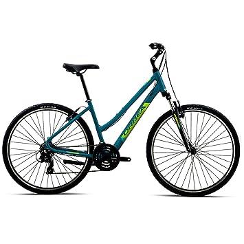 Orbea Comfort Bicicleta de trekking 32 7 marchas, 28 pulgadas Suspensión Hombre Mujer Unisex Tiempo Libre Bike, I407, color azul, tamaño medium: Amazon.es: ...