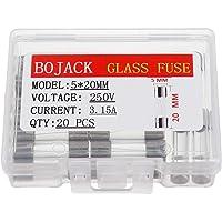 BOJACK F3.15AL250V 5x20 mm 3.15A 250V Fusibles