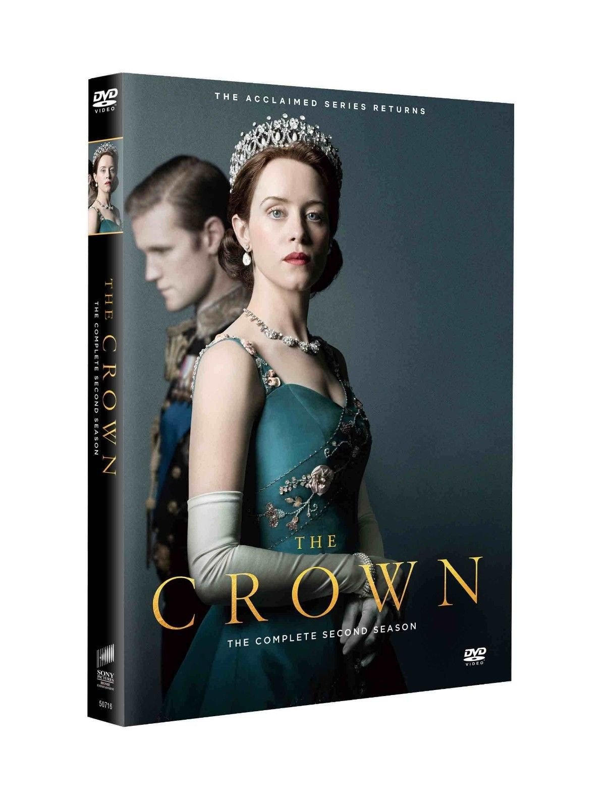 The Crown Season 2 DVD Set Next Day Ship