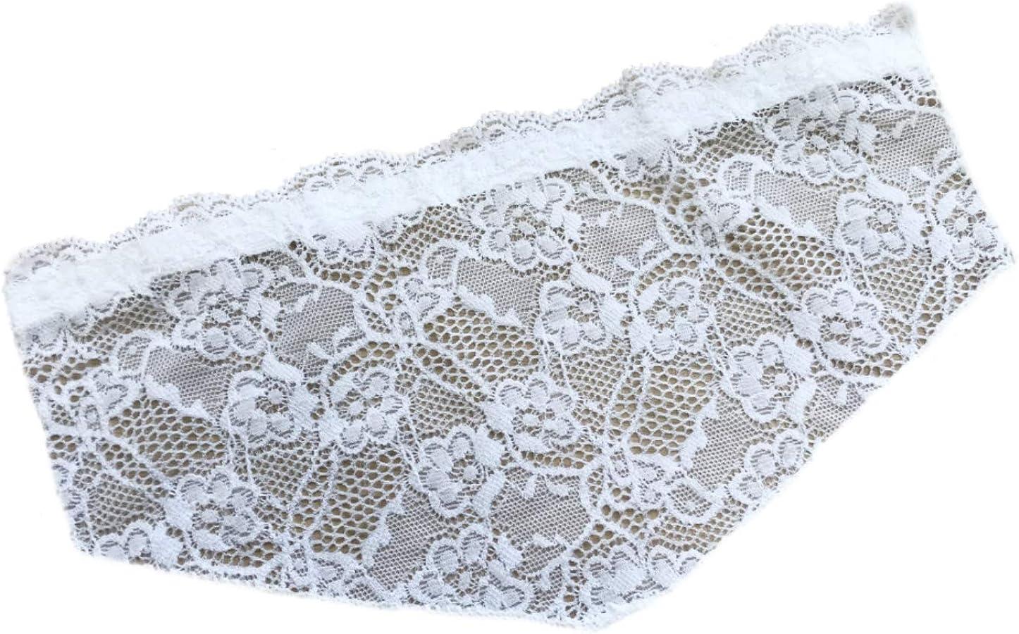 Beautiful White all Lace Modesty Panel