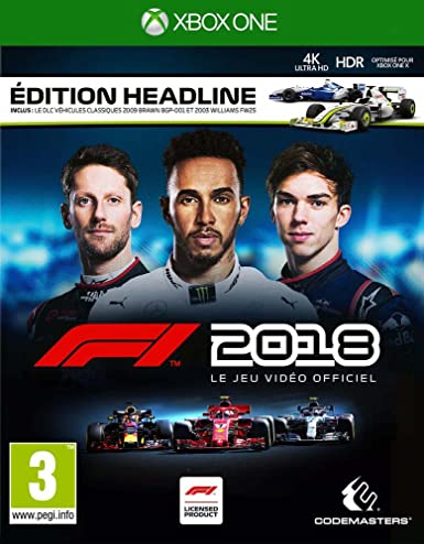 F1 2018 - Edition Headline - Xbox One [Importación francesa]: Amazon.es: Videojuegos