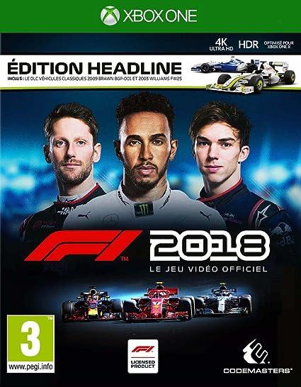 F1 2018 - Edition Headline - Xbox One [Importación francesa ...