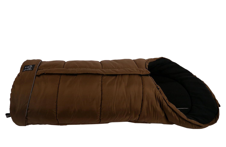 Kaiser 6570835 Fußsack Iglu Thermo Fleece Farbe Braun Baby