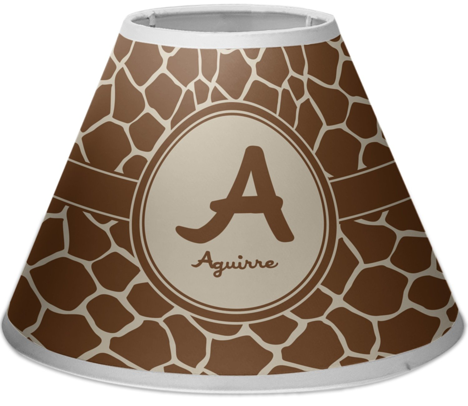RNK Shops Giraffe Print Empire Lamp Shade (Personalized) by RNK Shops