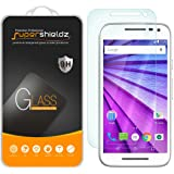 [2-Pack] Motorola Moto G (3rd Gen / Generation) Tempered Glass Screen Protector, Supershieldz Anti-Scratch, Anti-Fingerprint, Bubble Free, Lifetime Replacement Warranty