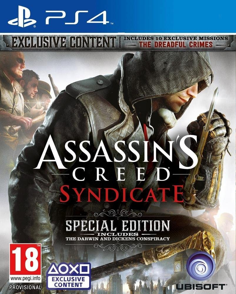 Ubisoft Assassins Creed Syndicate Special Edition, PS4 Básico + ...