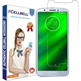 CELLBELL Tempered Glass Screen Protector with Installation Kit for Motorola Moto G6 Plus (Transparent)