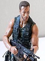 NECA Arnold Schwarzenegger (Predator review) action figure toy [OV]