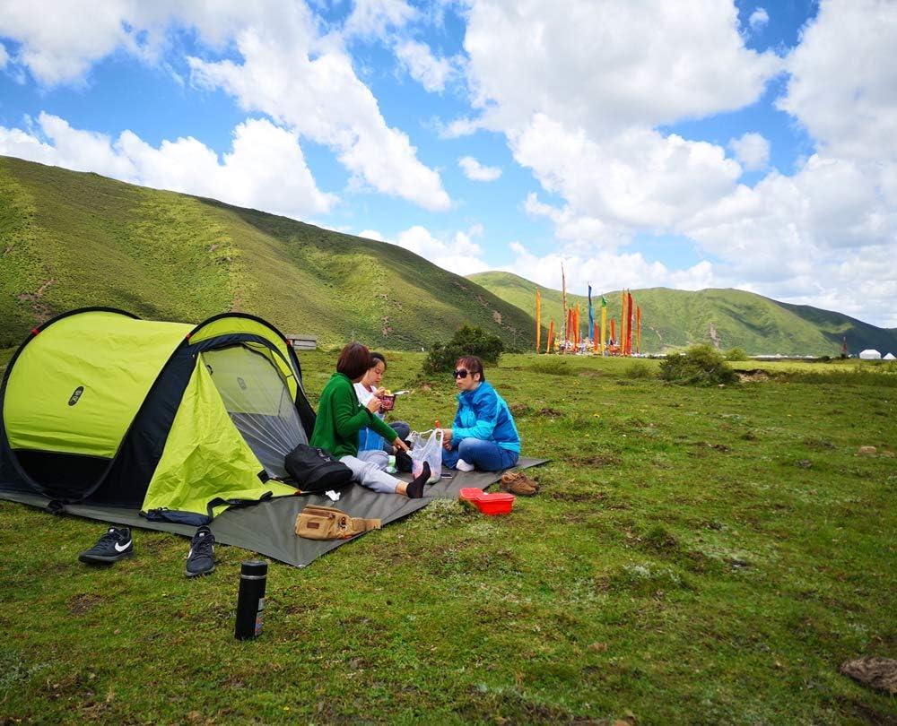 Mdsfe XIAOMI toeristische tent naturehike campingtent campinguitrusting outdoor camping vistent wandelpaviljoen 3-4person automatische tent A224 Groen-a224 Groen-a224