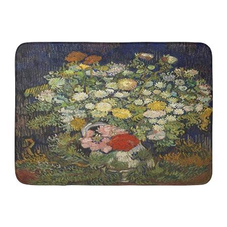 Mazzo Di Fiori Van Gogh.Zerbini Tappeti Da Bagno Tappetino Per Porte Per Interni Esterni