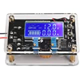 DROK® DC-DC Adjustable Buck Voltage Converter Stabilizer 6-32V to 1.25-32V LCD Display Constant Volt Amp 6V 12V 24V Step Down Voltage Regulator Power Module with USB Port Protective Shell