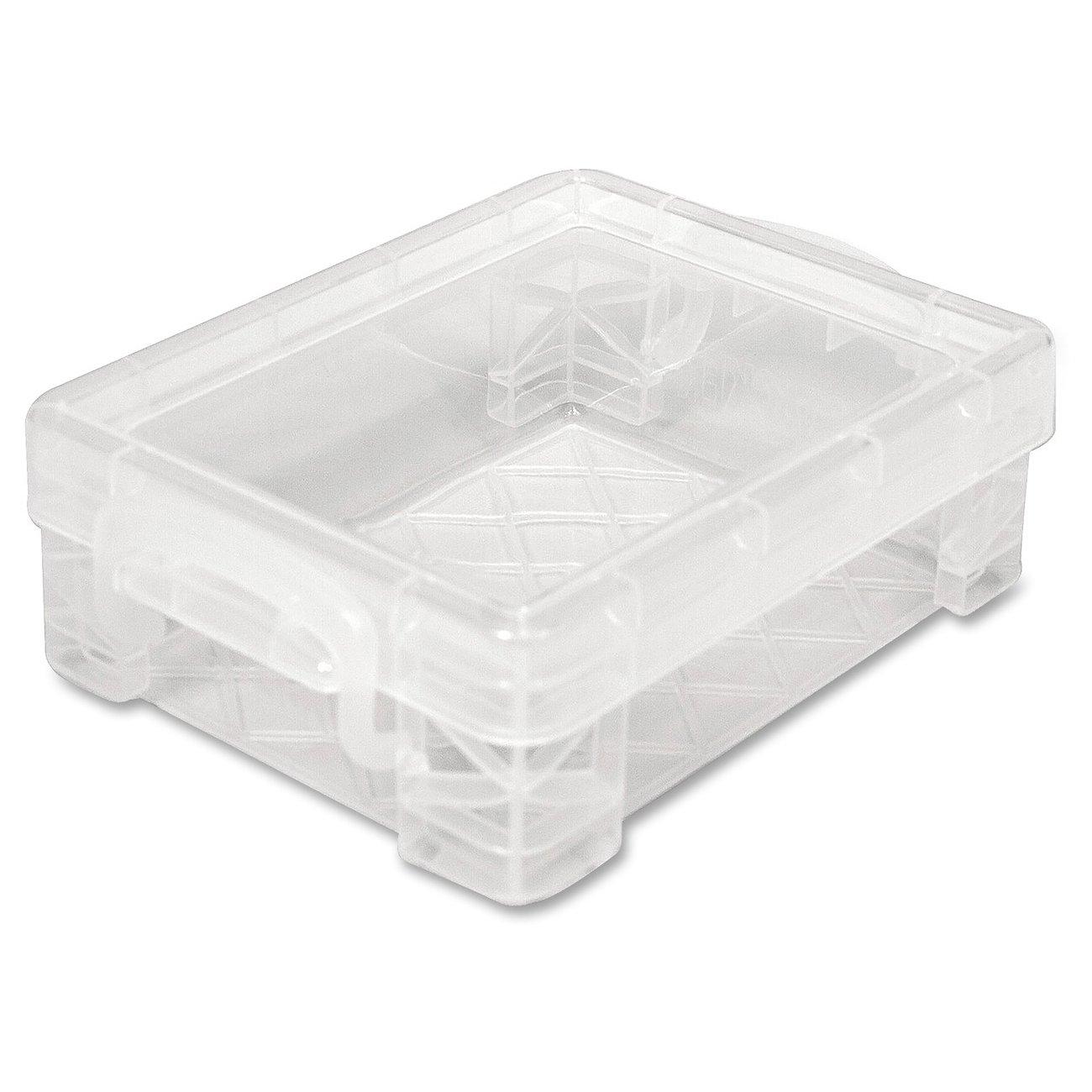 Advantus Super Stacker Crayon Box, Clear, 40311