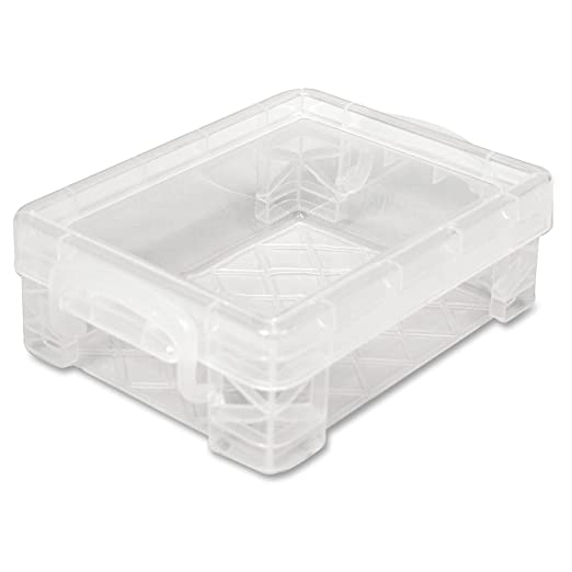 Superieur Amazon.com : Super Stacker Crayon Box, 4.75 X 3.5 X 1.5 Inches, Clear, 1 Box  (40311) : School Supply Boxes : Office Products