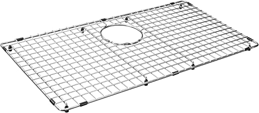 Serene Valley Sink Bottom Grid 27 9 16 X 14 9 16 Rear Drain With Corner Radius 3 16 Kitchen Sink Protector Ndg2815r Amazon Com