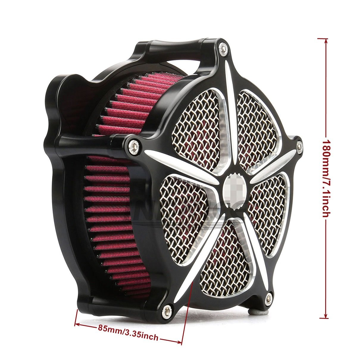 CNC Edge Cut Air Cleaner street glide air Intake Filter road glide air filter For Harley Touring Models 2008-2016