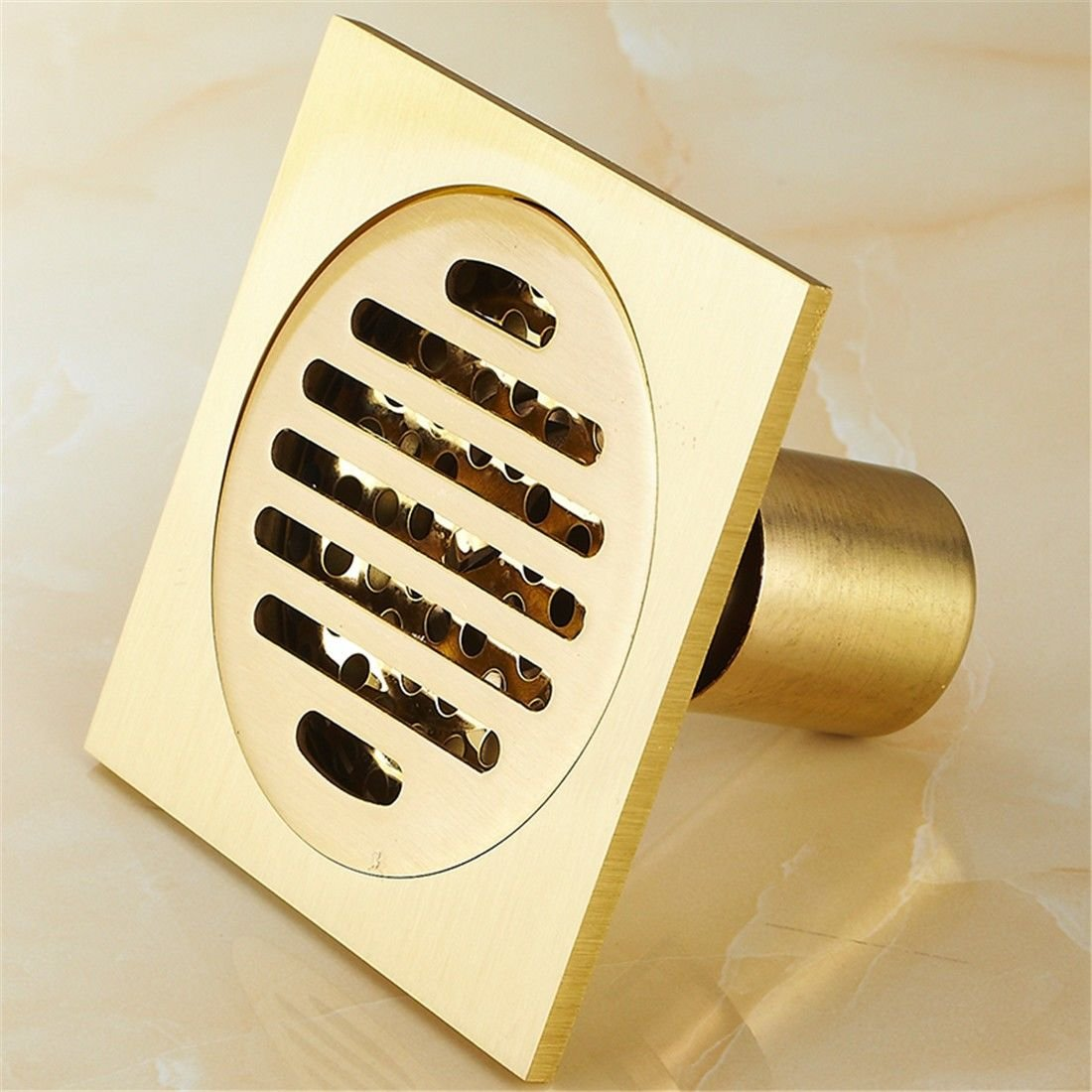 LINA bathroom accessories Antique Copper ground leakage sealing toilet shower long three-way deodorant washing machine special drainage, A