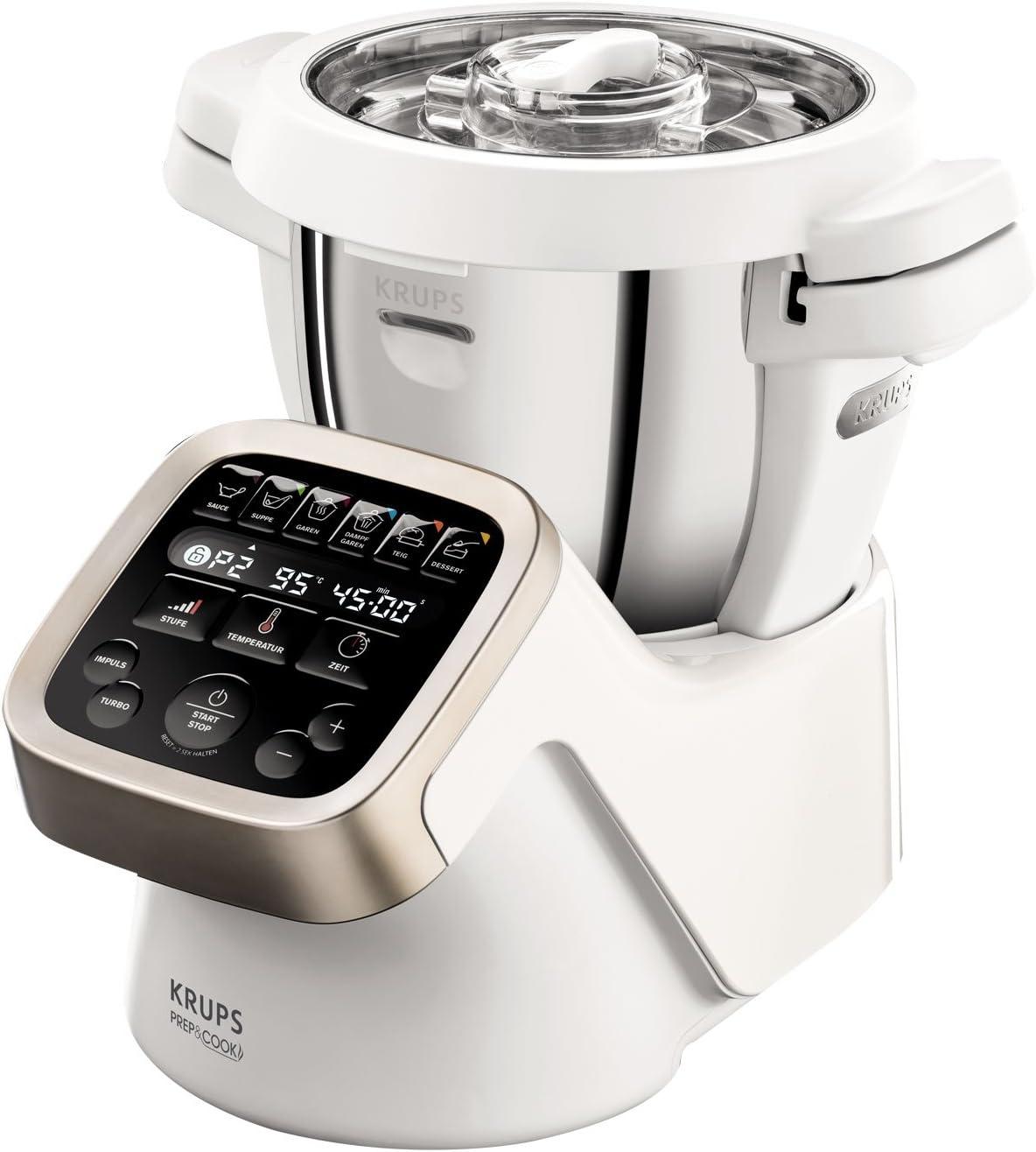 Krups HP5031 Prep & Cook – Robot de cocina multifunción Incluye ...