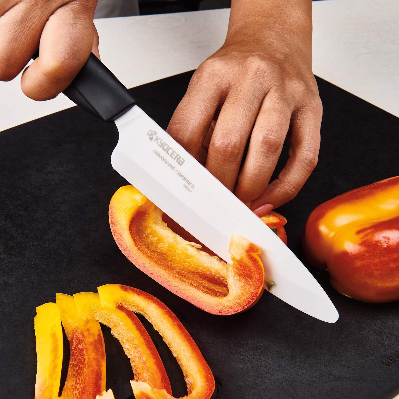 Kyocera FZ-4PC WH-BK Innovation Series Ceramic Knife, 7''/5.5''/5''/4.5'', WHITE by Kyocera (Image #7)