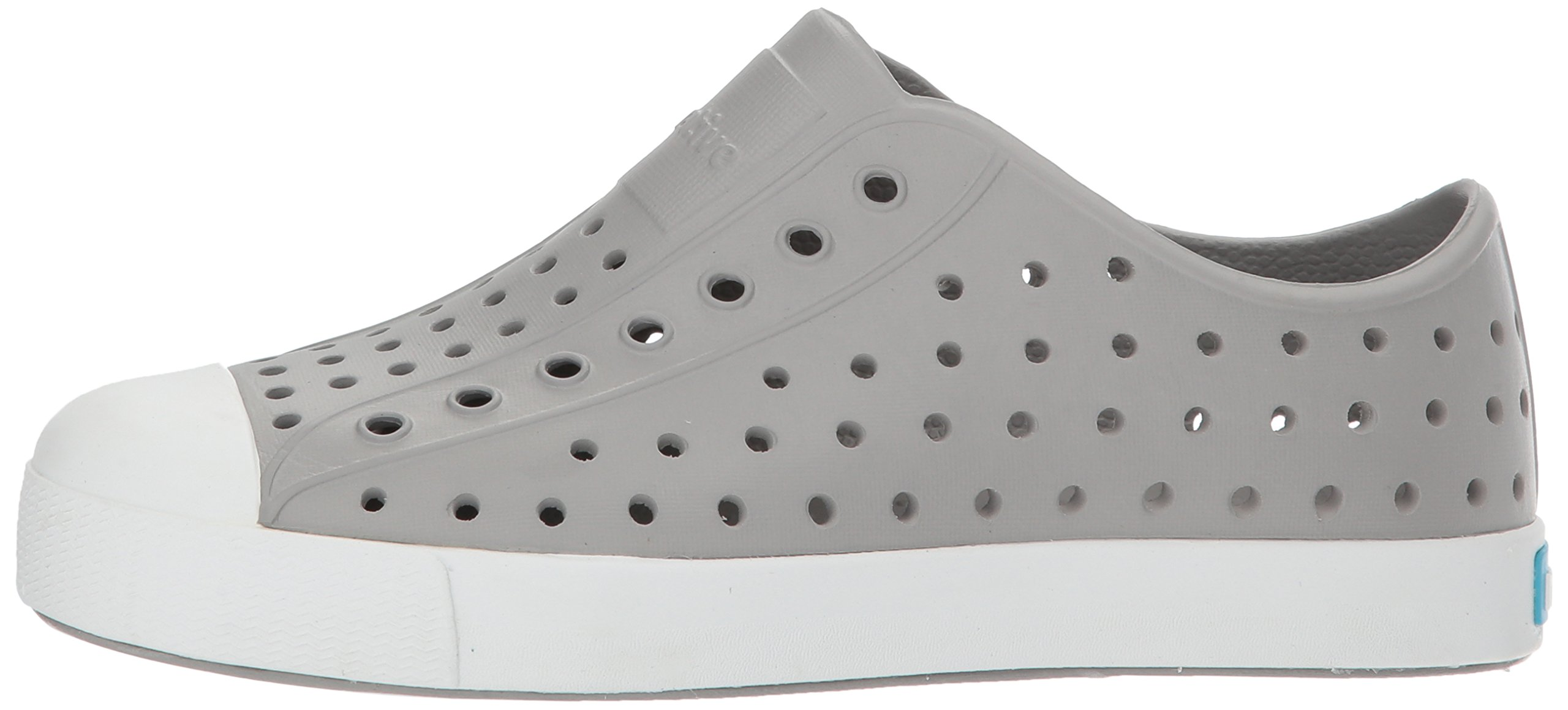 Native Kids Jefferson Junior Water Proof Shoes, Pigeon Grey/Shell White, 2 Medium US Little Kid by Native Shoes (Image #5)