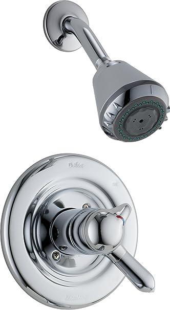 delta monitor 1400 shower faucet repair kit classic series trim chrome single handle 1300