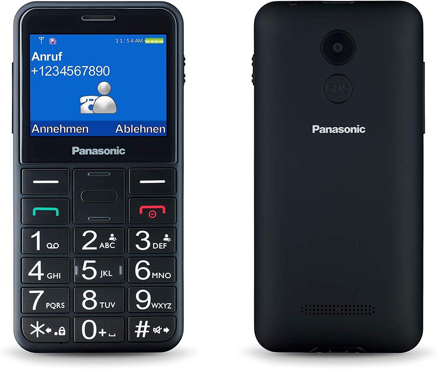 Panasonic KX-TU150EXB - Teléfono Móvil Dual SIM (Pantalla de 2.4